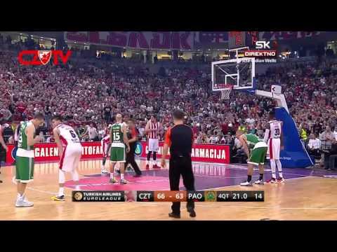 Crvena zvezda Telekom - Panathinaikos | Poslednji minut | Euroleague, TOP 16