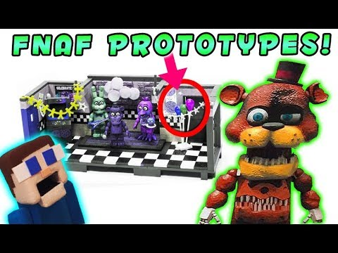 FnaF McFarlane Toys TOP SECRET Prototypes REVEALED Freddy and the Show Stage & The office