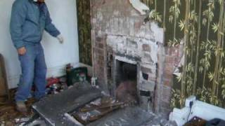 Removing Old Fireplace 1