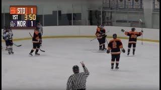 Stoughton High Boys Hockey vs Norton (2-5-18)
