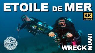 Etoile de Mer Tec Wreck Scuba Dive | 2 of 3 Miami Tek Wreck Trek, Florida