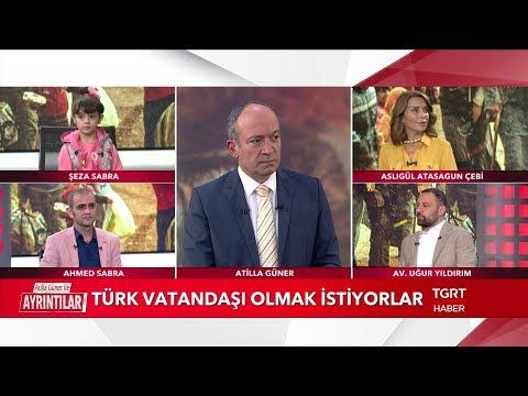 Türkiye'deki Suriyeli Gerçeği | Suriyeli Şeza ve Babası TGRT Haber'de | 15 Ekim 2018