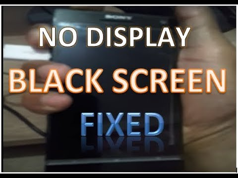 how to fix No Display Black Screen problem in Smartphone, iPhone or Tablet