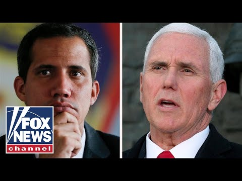 Pence meets with Venezuela's Guaido after weekend of violence