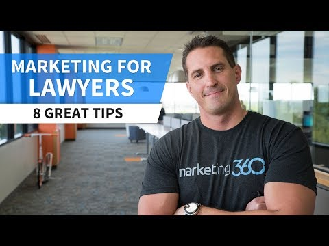 Marketing for Lawyers - 8 Tips