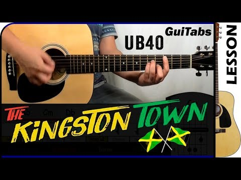 How To Play Kingston Town 🇯🇲 - UB40 / Guitar Tutorial 🎸