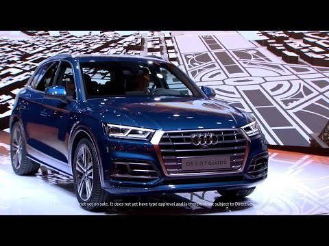 All-New Audi Q5 revealed at the Paris Motor Show (Full Press Conference)