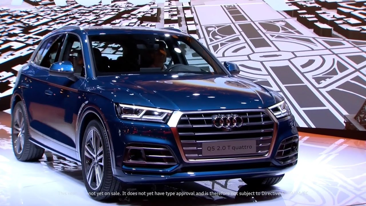 2015 Audi Q5 >> All-New Audi Q5 revealed at the Paris Motor Show (Full Press Conference) - YouTube