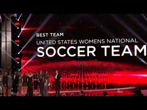 The ESPYS 2015 - USA Womens Nation Soccer Win BEST TEAM
