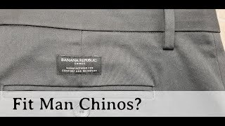 Best Fitting Chinos For The Fit Man | Banana Republic