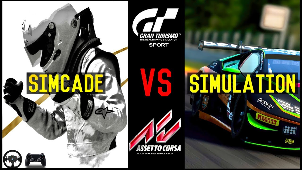 Assetto Corsa Competizione vs Gran Turismo Sport