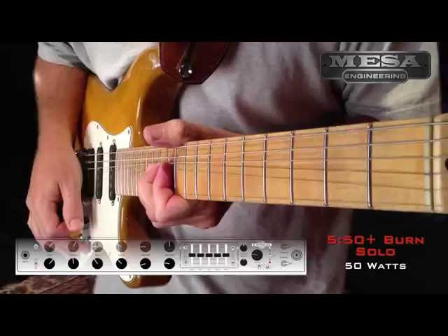 MESA/Boogie Express 5:50+ Ch. 2 BURN – Single Note Solo
