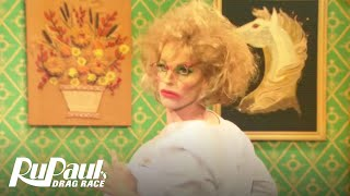RuPaul's Drag Race | Divine Skit for John Waters: Cha Cha Heels | Season 7