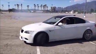 Kadın Arabanın Hakkını Veriyor [BMW Drift]