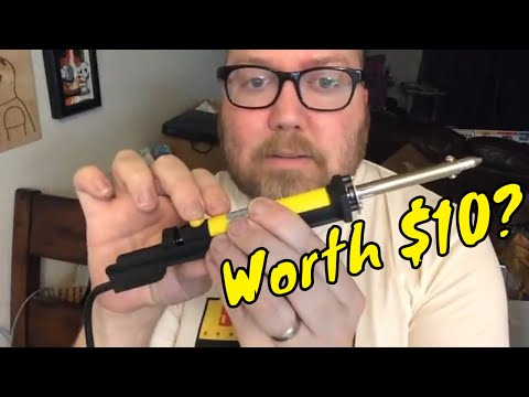 Cheap Desoldering Pump - Worth $10? (Open Cart Surgery) - RIGGS