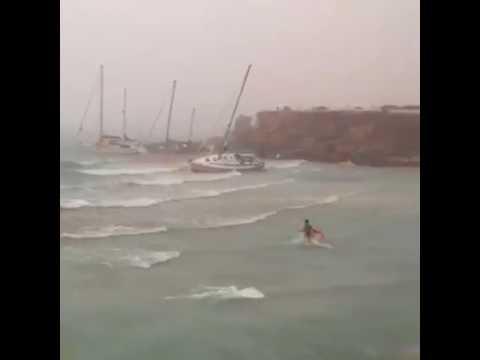 Storm at Ibiza, Formentera. August 2017.