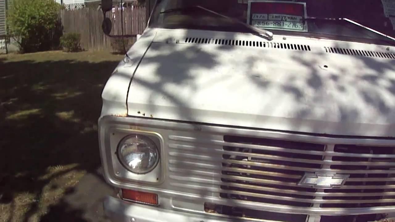 1975 chevy van 30 motorhome