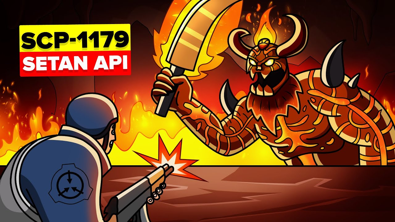 SCP-1179 - Monster Tambang Purba Bangun - Setan Api Centralian (Animasi SCP)