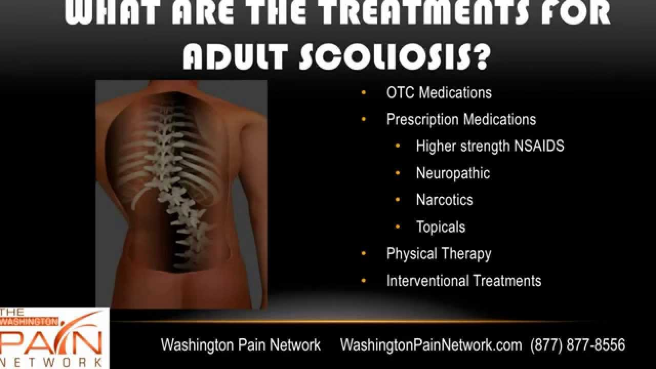 In scoliosis adult