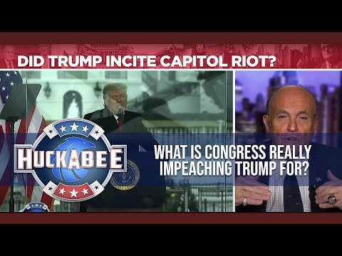 What Is Congress Really IMPEACHING Trump For? | Rudy Giuliani | Huckabee