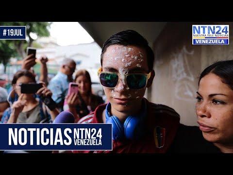 Noticias NTN24ve #19Jul