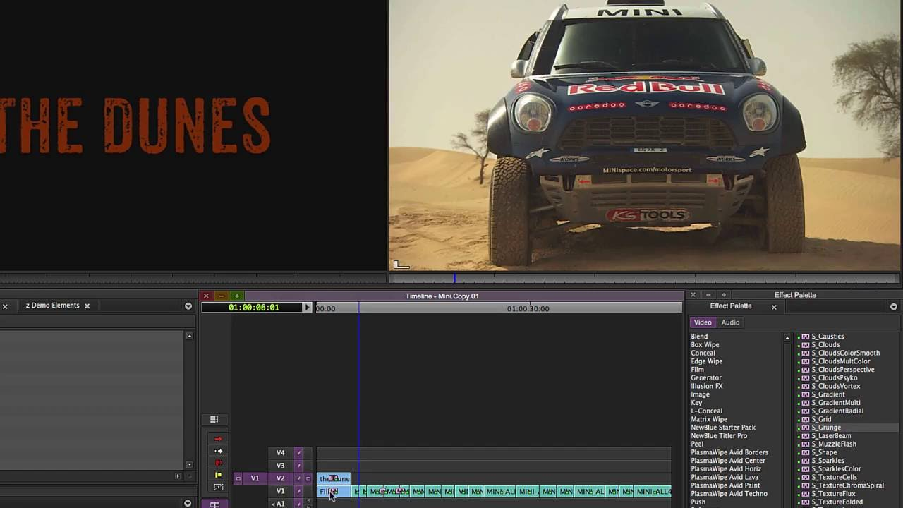 How To Create A Custom Grunge Textured Background In Avid Media Composer Shire
