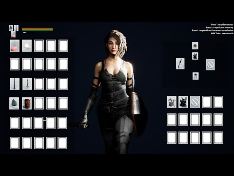 Character & Gameplay Showcase - Fantasy RPG (UE4 Marketplace)