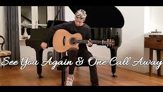 Video See You Again & One Call Away - MASHUP Cover by Alex Catozzi download MP3, 3GP, MP4, WEBM, AVI, FLV Maret 2018