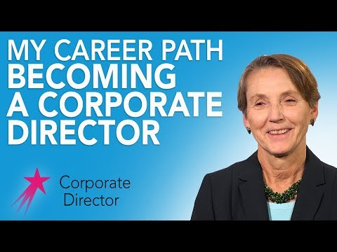 Corporate Director: My Career Path - Tee Taggart Career Girls Role Model