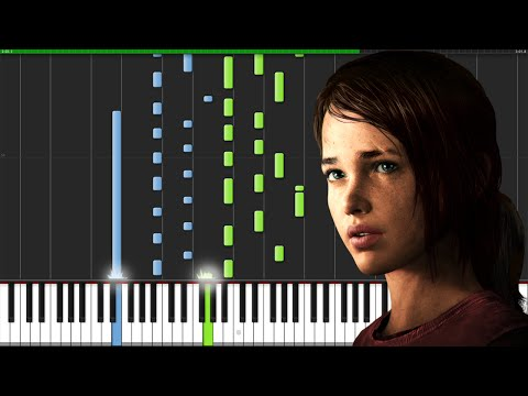 The Last of Us Theme [Piano Tutorial] (Synthesia) // Wouter van Wijhe