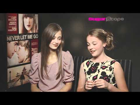 Ella Purnell and Izzy MiekleSmall talk to Sugarscape about Never Let Me Go!