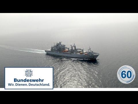 60 Sekunden Bundeswehr: Einsatzgruppenversorger BONN