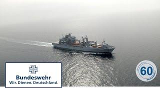 """60 Sekunden Bundeswehr: Einsatzgruppenversorger """"BONN"""""""