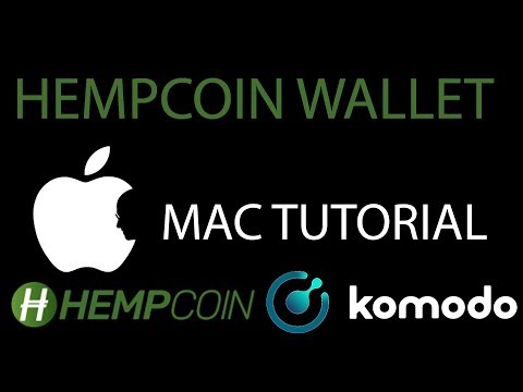 MAC TUTORIAL - HempCoin/KMD - Command Line Wallet