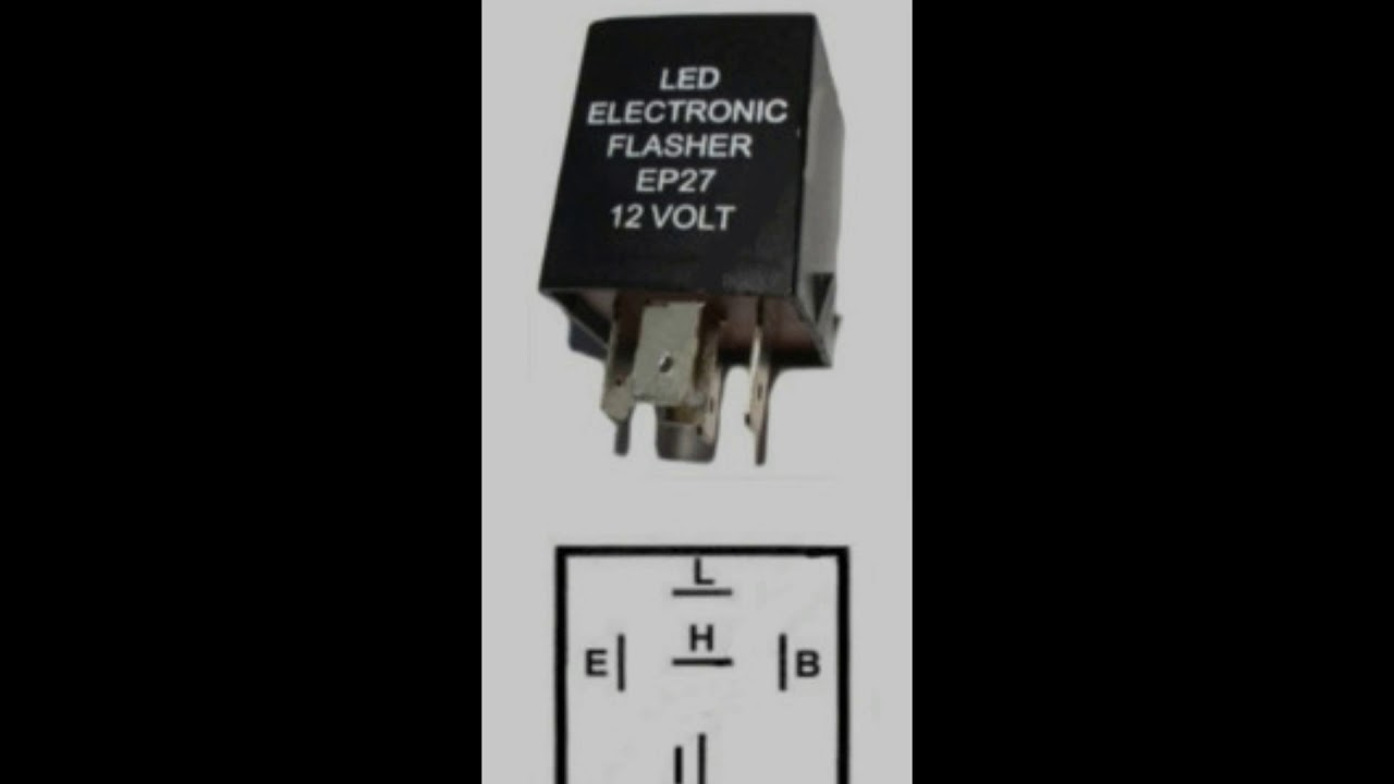 Product 67912 Electronic Led Compatible Flasher Ep27 12 Volt Dc 150 Watt