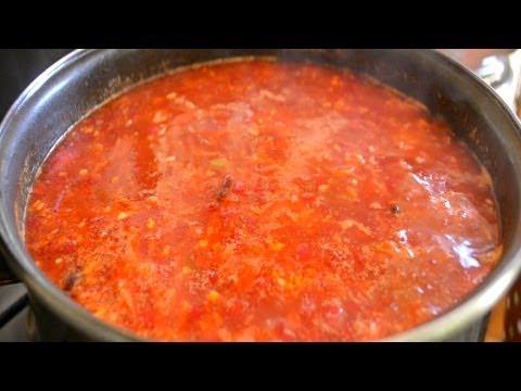 Суп с говяжьими ребрами