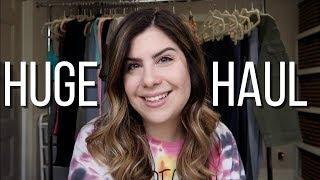 HUGE collective unboxing video | grandma hanger box, thredup, thrift haul, boutique clothing