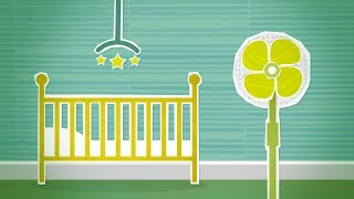Put Baby to Sleep with Fan Sound White Noise | Soothe Crying, Colicky Infant | 10 Hours