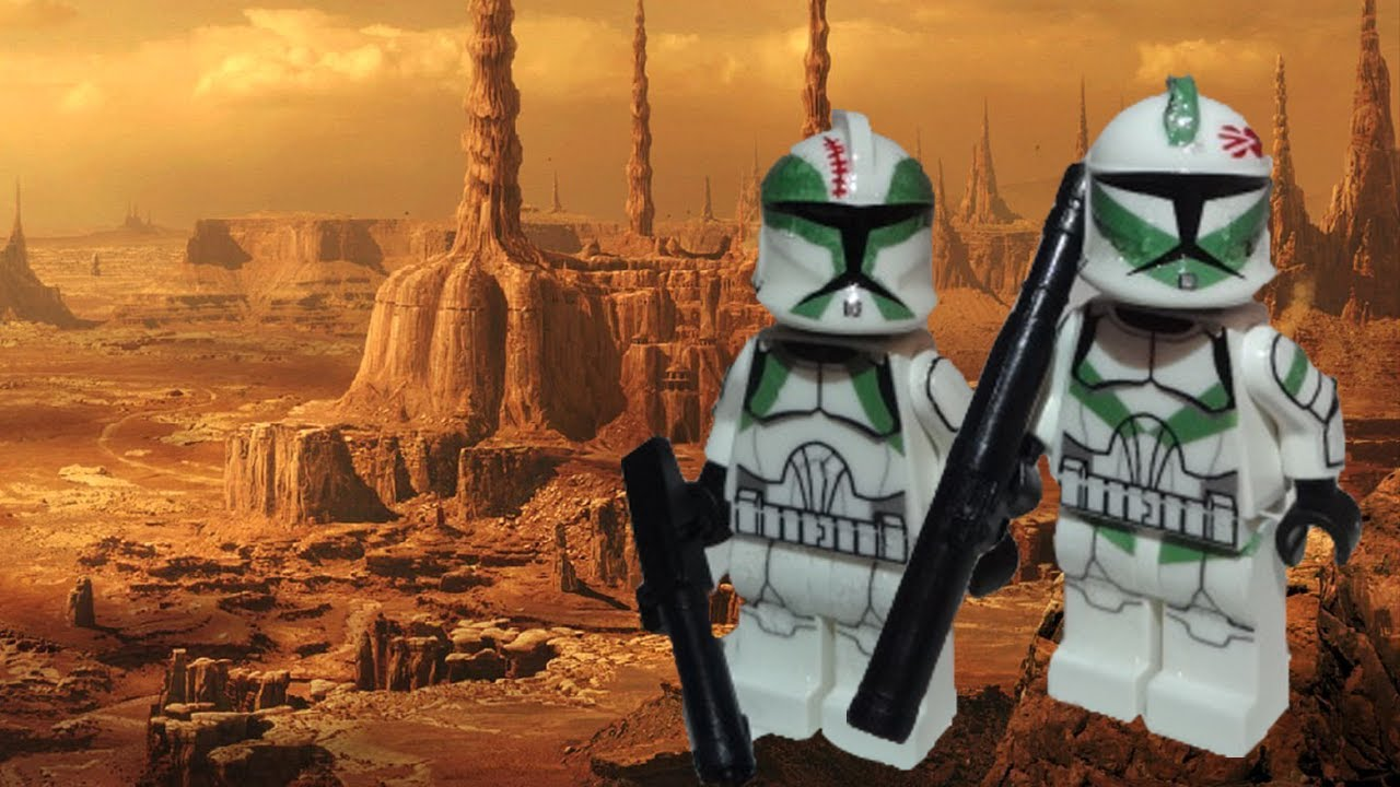 Lego Star Wars Clone Trooper Buzz And Draa Showcase Youtube