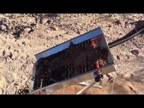 Arizona gold dry washing