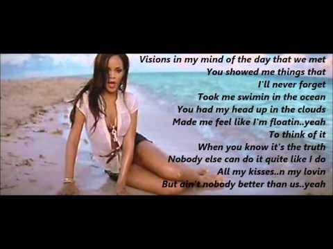 Rihanna - We Ride ( Lyrics on Screen )