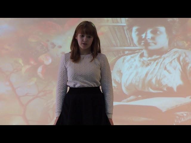 Изображение предпросмотра прочтения – СветланаДроздова читает произведение «Я только девочка.» М.И.Цветаевой