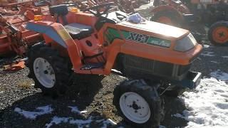 Traktorek KUBOTA XB-1 traktorek ogrodniczy. www.akant-ogrody.pl