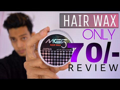How To Use Hair Wax Mg5 Japan Hair Wax Full Review In Hindi Youtube
