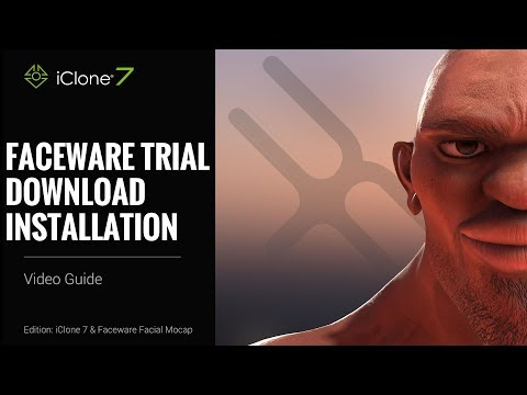 iClone Faceware Trial Download - Installation Video Guide
