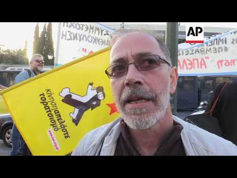 Thousands protest at US Athens embassy over possible Syria strikes
