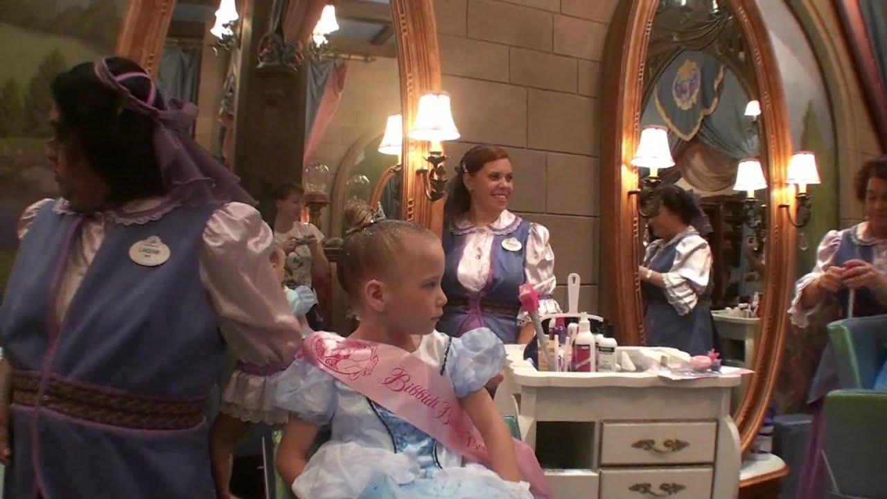 "Walt Disney World - Magic Kingdom ""Princess Makeover ..."