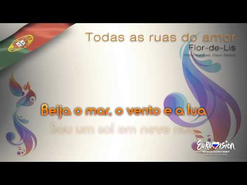 "Flor-de-Lis - ""Todas As Ruas Do Amor"" (Portugal) - [Instrumental version]"
