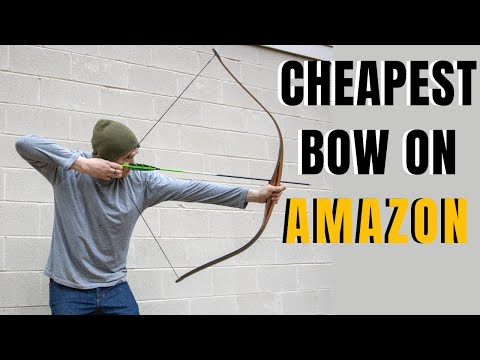 """Amazon's Cheapest BOW"" --- BRUTALLY HONEST Review... Is It Worth Buying?"