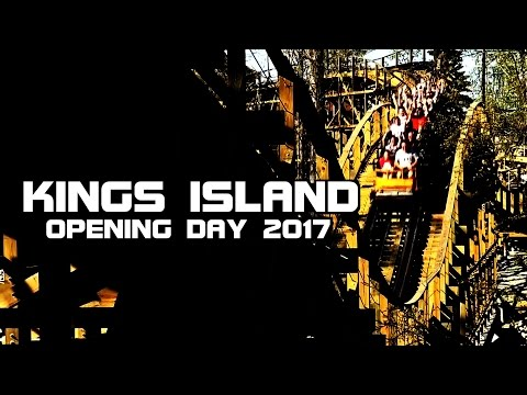 Kings Island OPENING DAY 2017